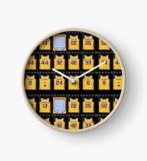 Lebron James Los Angeles Lakers Clock