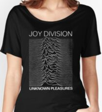 Joy Division Unknown Pleasures  Women's Relaxed Fit T-Shirt