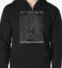 Joy Division Unknown Pleasures  Zipped Hoodie
