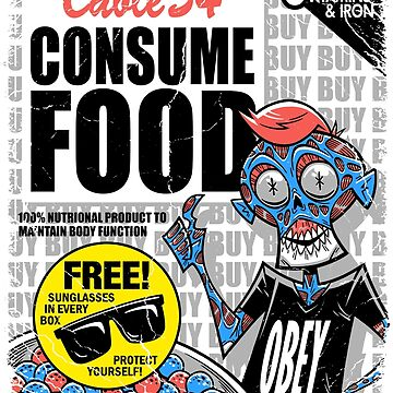 CONSUME FOOD! by MINION-FACTORY