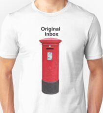 Postbox Original Inbox Unisex T-Shirt