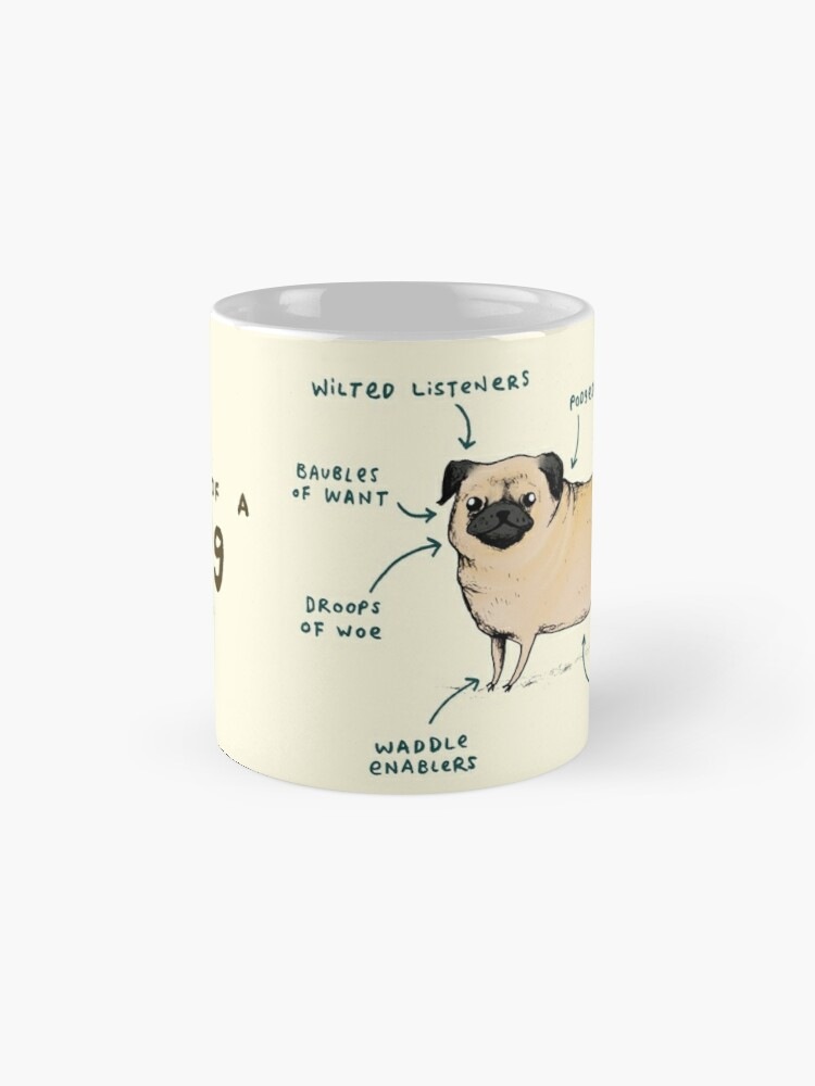 Alternate view of Anatomy of a Pug Mug