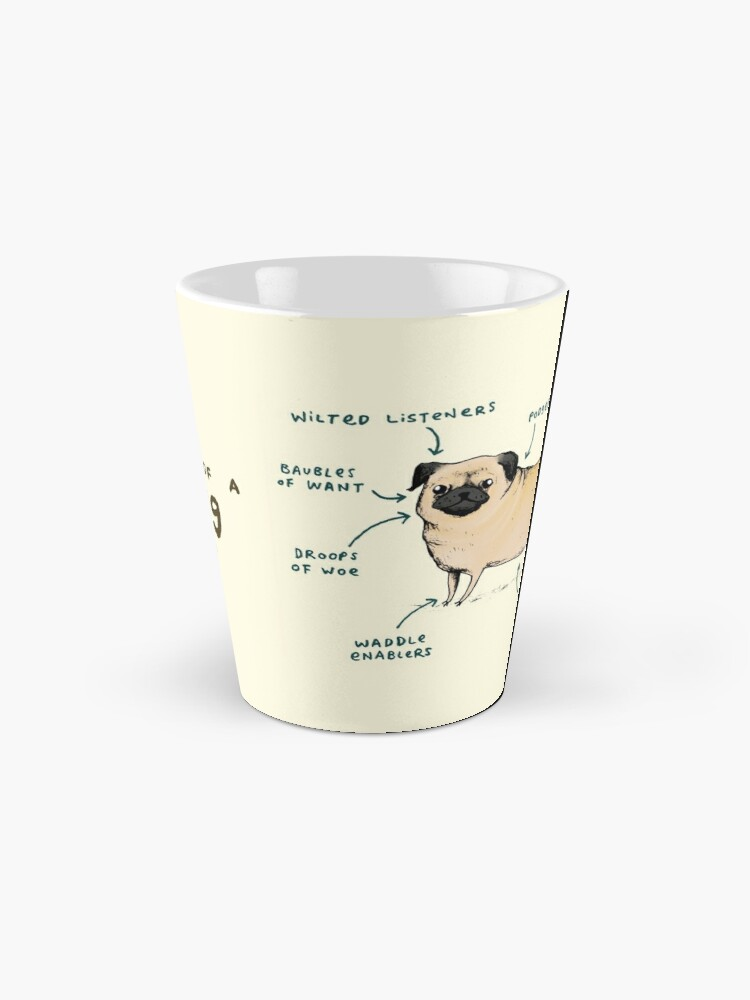 Alternate view of Anatomy of a Pug Mug
