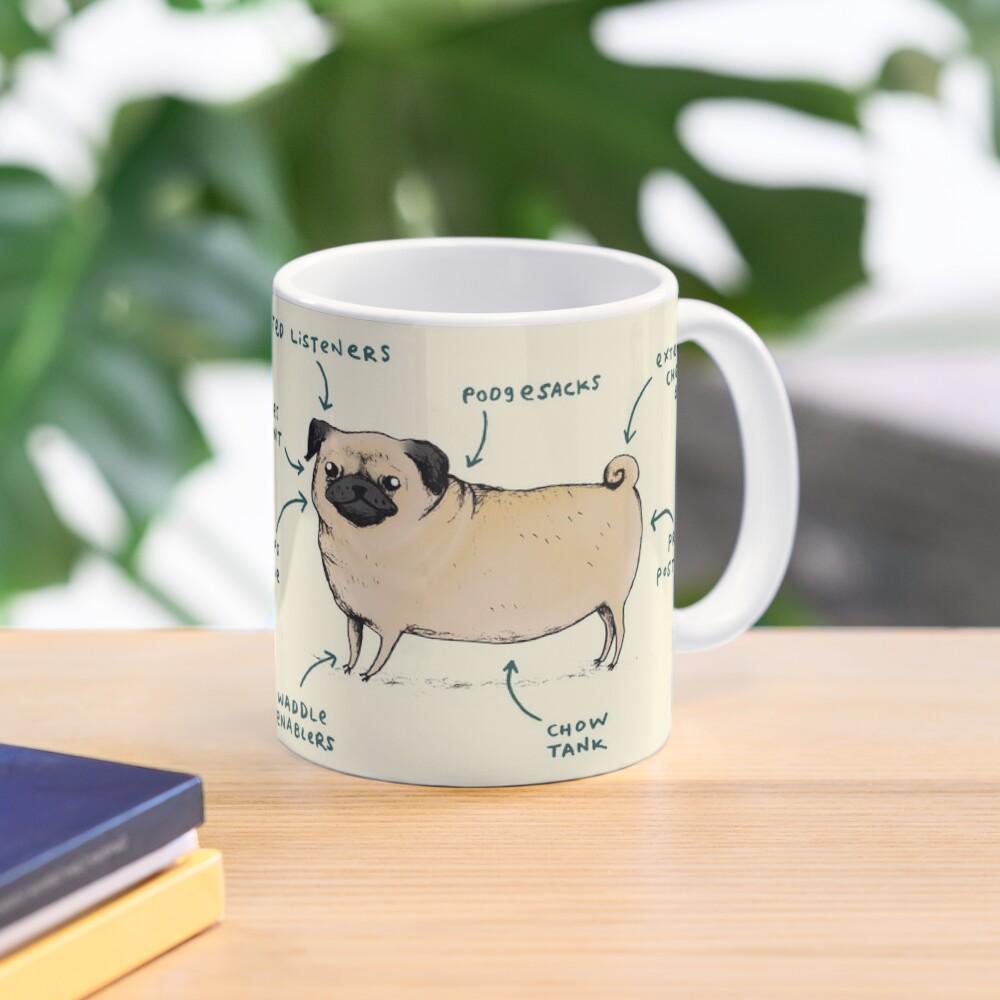 Anatomy of a Pug Mug
