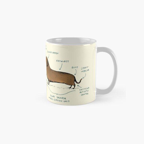 Anatomy of a Dachshund Classic Mug