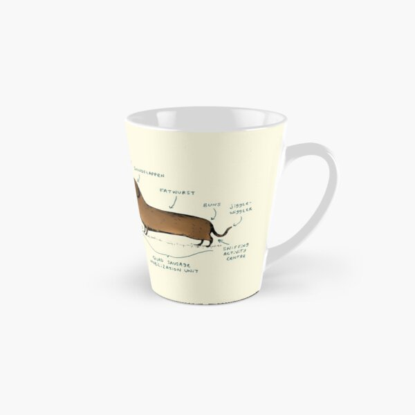 Anatomy of a Dachshund Tall Mug
