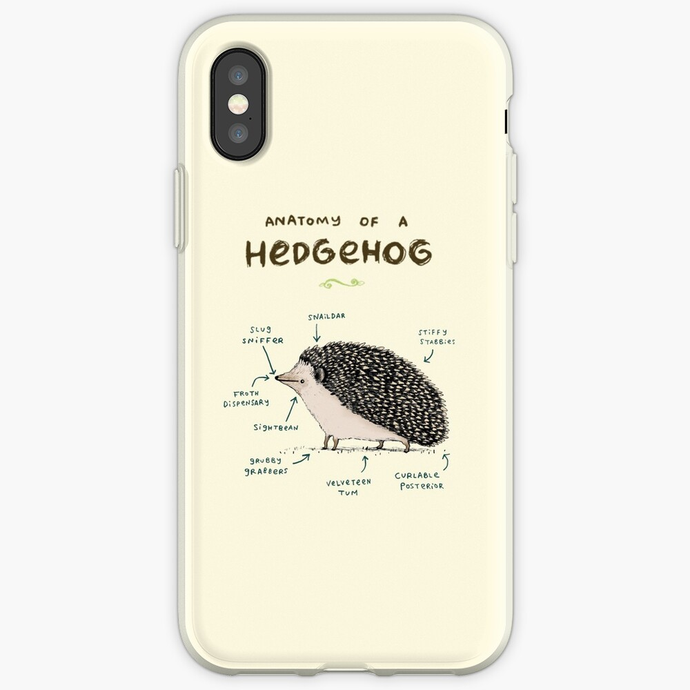Anatomie eines Igels iPhone-Hülle & Cover