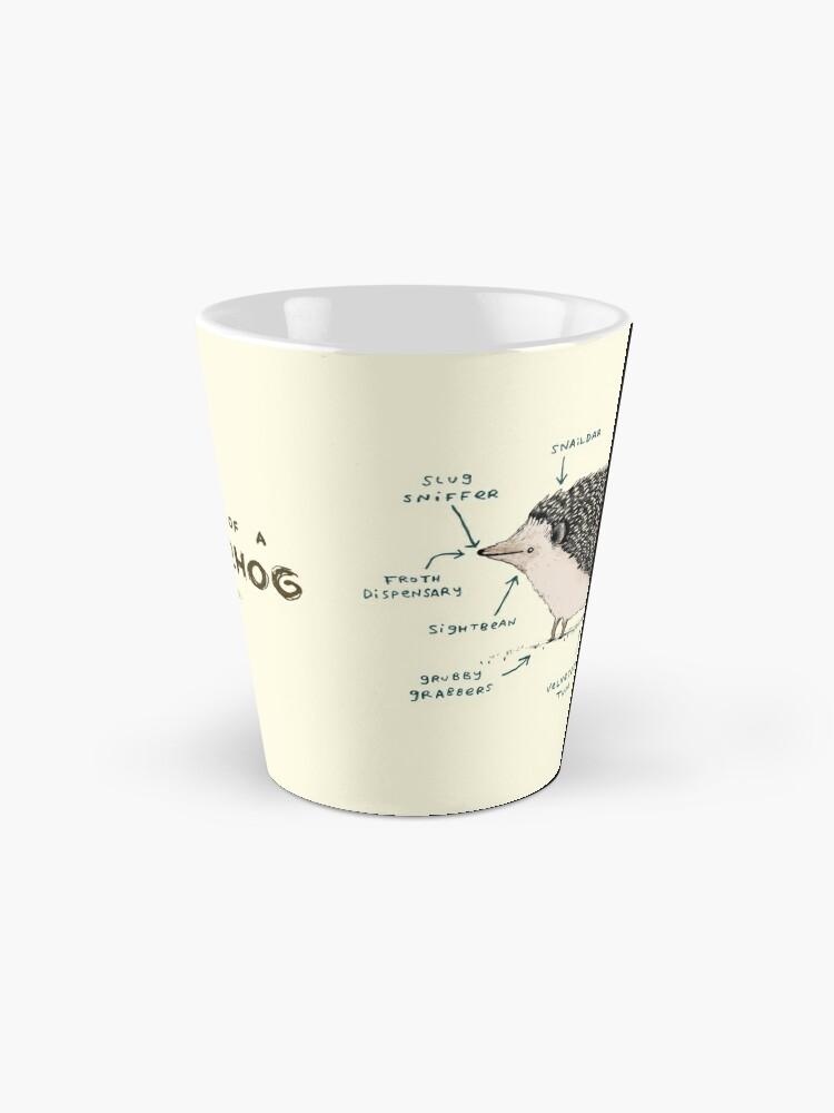 Alternate view of Anatomy of a Hedgehog Mug