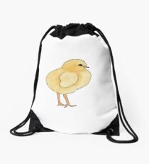 Cute Chick! Drawstring Bag