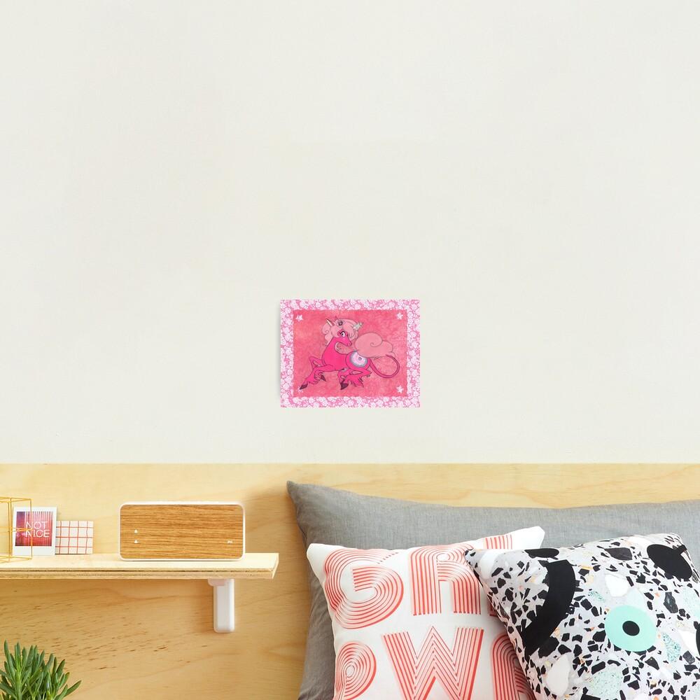 Pink Diamondcorm Photographic Print