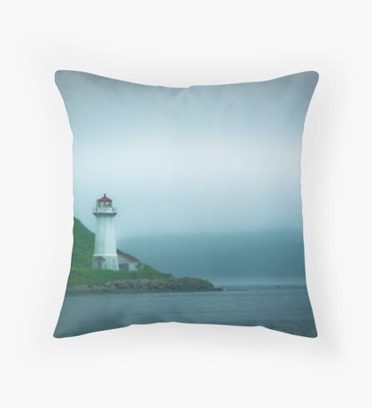 George's Island Throw Pillow