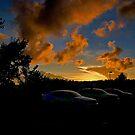 CVS Parking Lot Sunset by TJ Baccari Photography