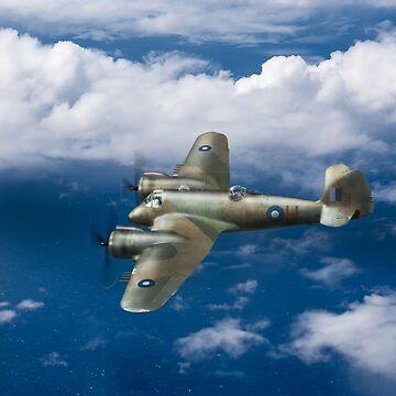 SEAC Beaufighter by garyeason
