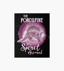 The Porcupine My Spirit Animal Art Board