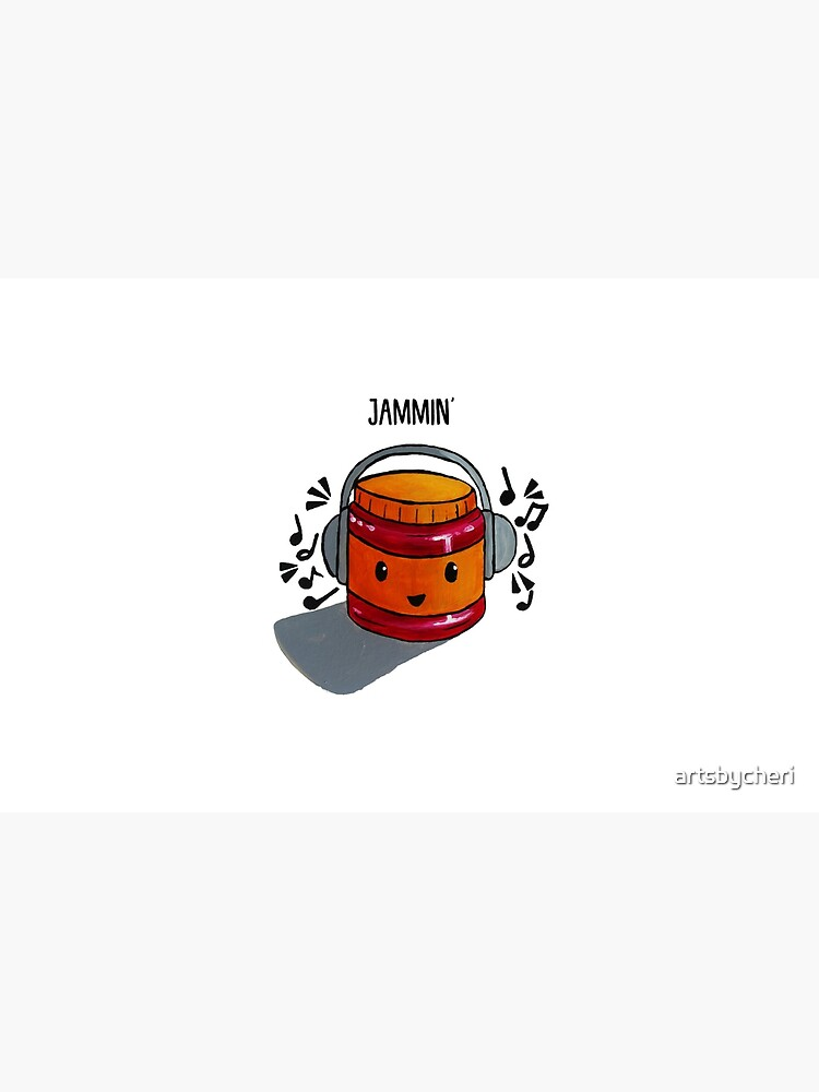 Food Pun - Jammin' by artsbycheri