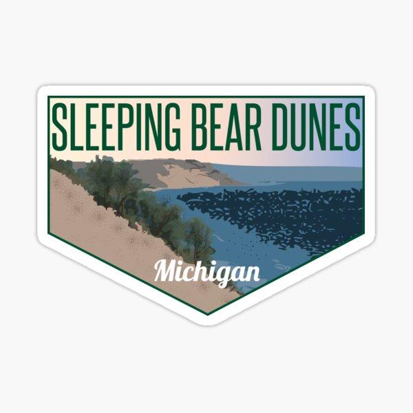 Sleeping Bear Dunes Michigan Sticker