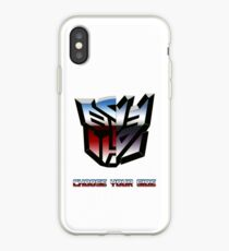 Transformers- Autobot/Decepticon iPhone Case