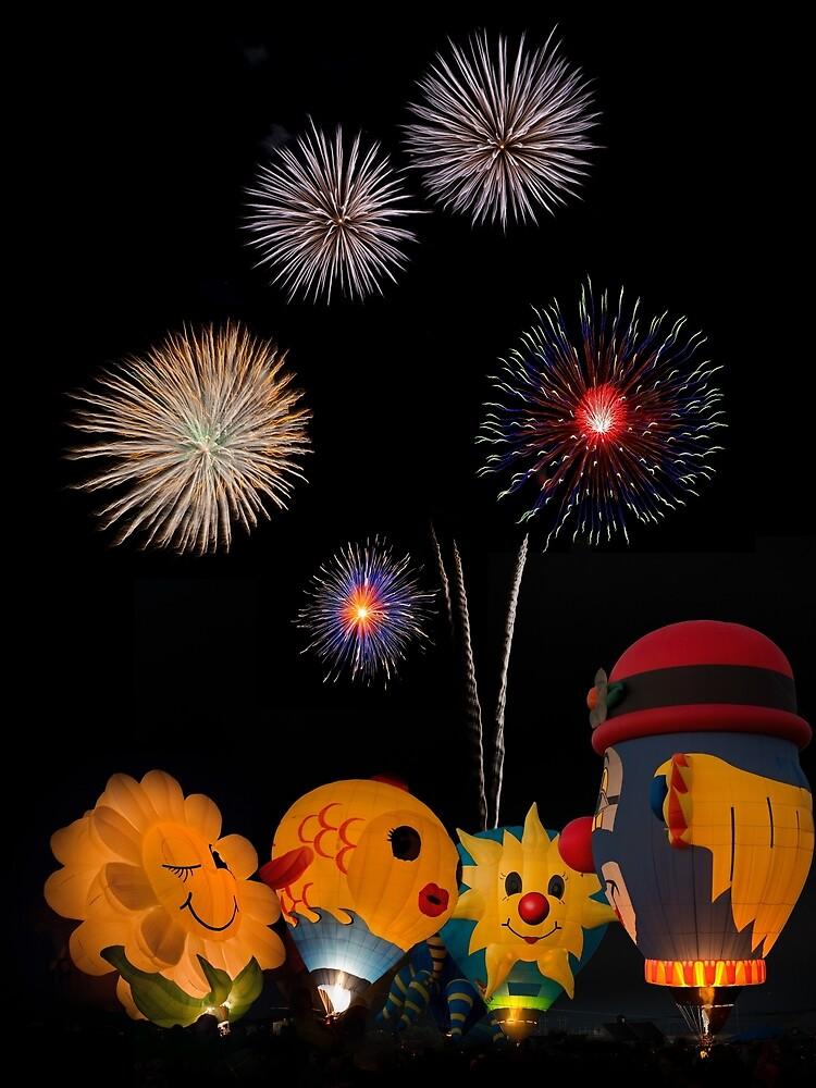 Flowery FireWorks by hr1142