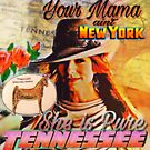 Tori Amos Fast Horse Vintage Inspired Tennessee digital collage by Batorian