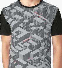 Brutalist Utopia Graphic T-Shirt