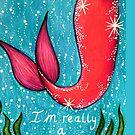 «Soy realmente una sirena» de Jessiiccaadraws