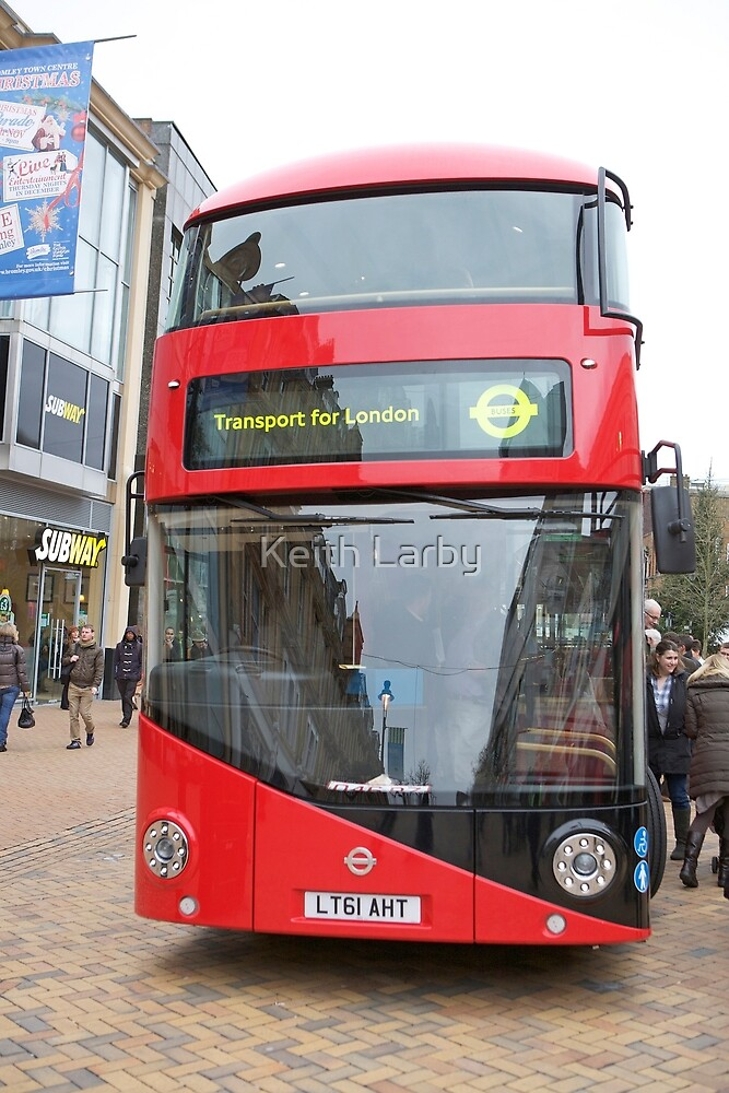 New London bus Prototype by Keith Larby