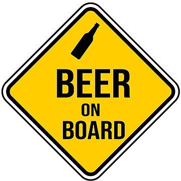 Beer on board by NoeliaUroz