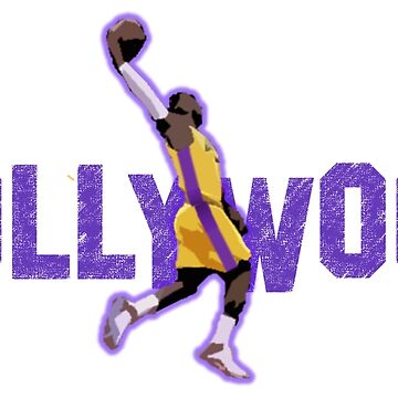 Lebron James Hollywood Lakers by ohwhaleeatcake