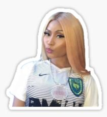 Minaj Sticker