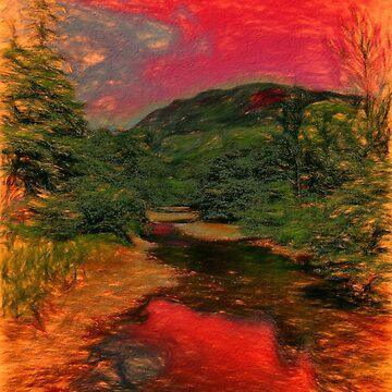 Fiery Sky by Focal-Art