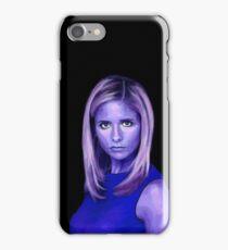 Portrait - Sarah Michelle Gellar iPhone Case/Skin