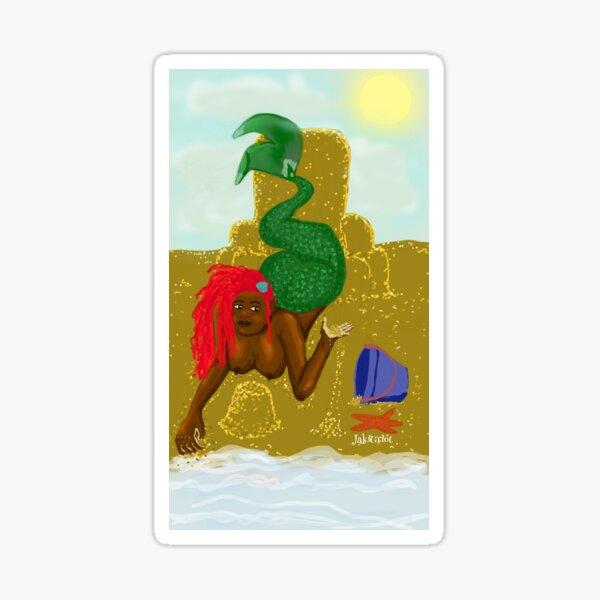 Mermaid Virgo Sticker