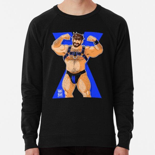 ADAM LIKES HARNESS - BLUE Lightweight Sweatshirt