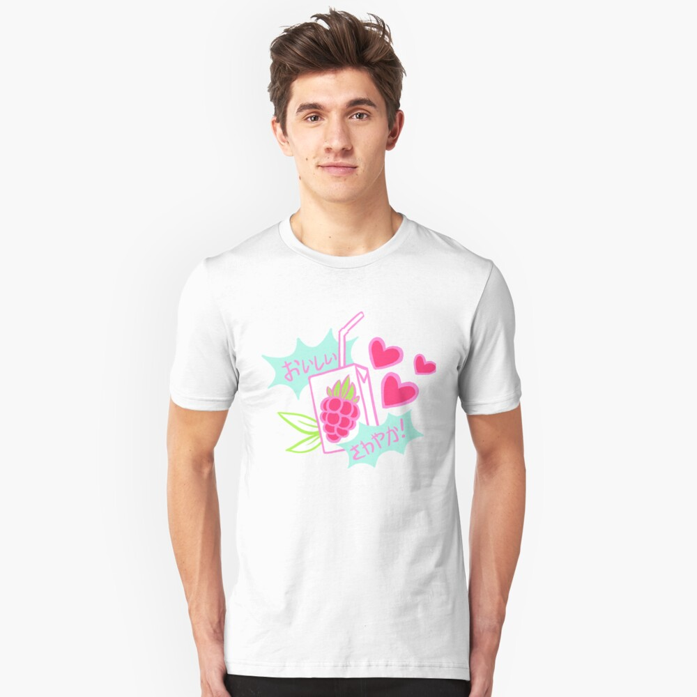 Delicious, Refreshing! Razz Berry Juice Slim Fit T-Shirt