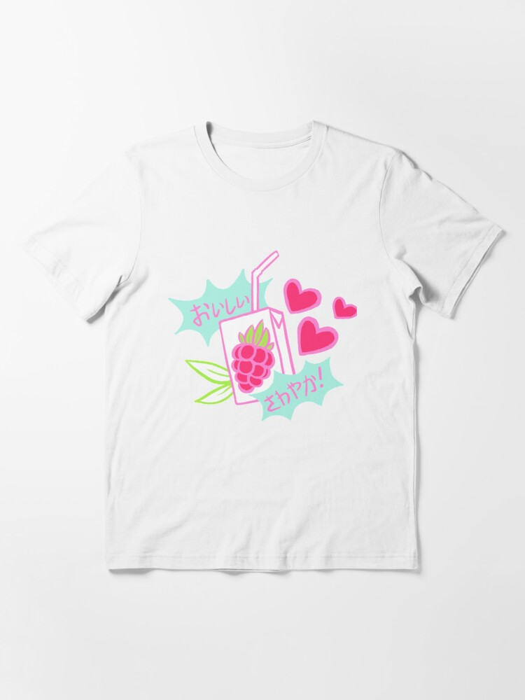 Alternate view of Delicious, Refreshing! Razz Berry Juice Essential T-Shirt