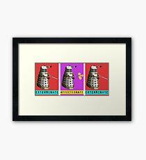 Affectionate Dalek Framed Print