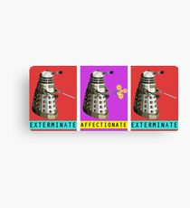 Affectionate Dalek Canvas Print