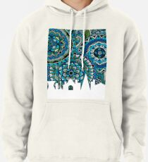 Ciudad de Mexico Mexico Skyline Zentangle Art Pullover Hoodie