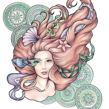 Mermaid Hair, Don't Care by lyndseyahughes