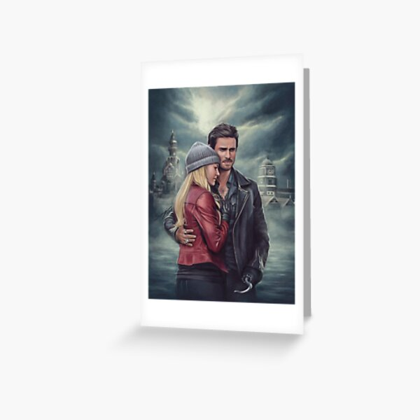 The Pirate and the Savior Greeting Card