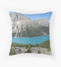 Icefields Parkway - Canada: September 2008 Throw Pillow