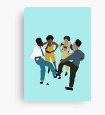 It's A House Party!  Canvas Print