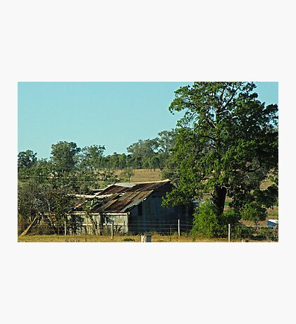 farm shed Photographic Print