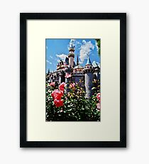 Castle Roses Framed Print