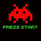 Space Invaders Press Start by 454autoart