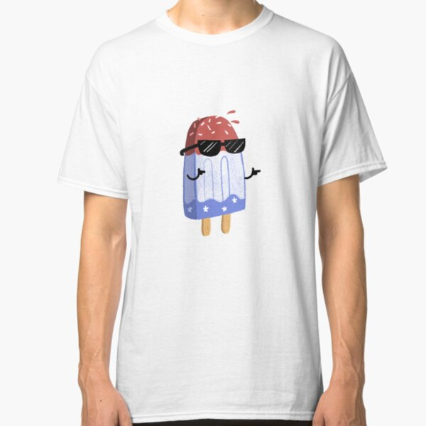 Festive Fourth - What's Poppin' Classic T-Shirt