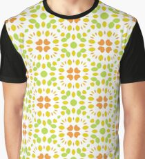 ornament floral round seamless colorful repeat pattern Graphic T-Shirt
