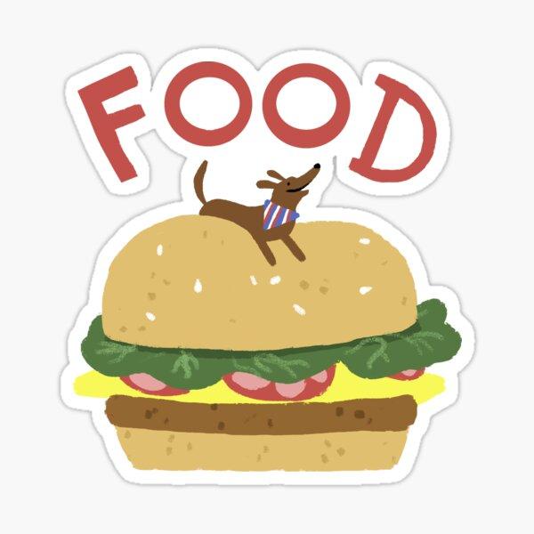 Festive Fourth - Food?!?! Sticker