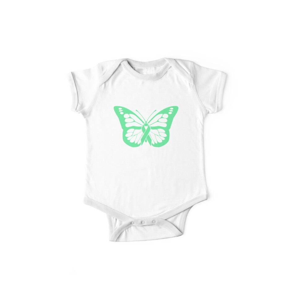 32e6b029fa9 'Butterfly - Mental Health Depression Awareness' Kids Clothes by EMDdesign