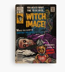 Witch Image - Ghost Comic Series Canvas Print